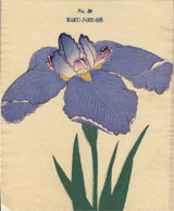 Old Japanese seed catalog cover