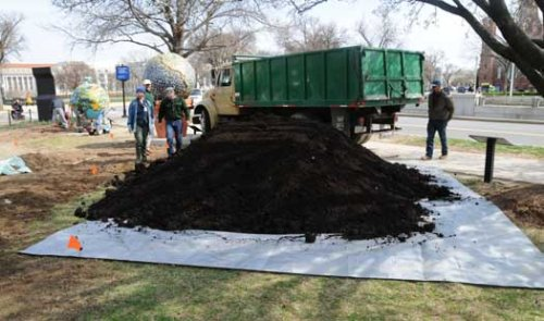 Rodale compost at USDA